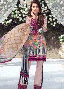 Gulaal Embroidered Lawn Unstitched 3 Piece Suit GL18L 01 - Spring / Summer Collection