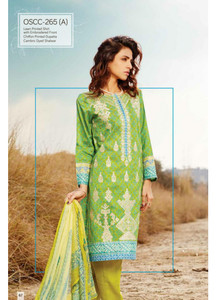 Oaks Embroidered Lawn Unstitched 3 Piece Suit OK17L 265A