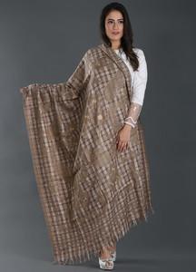 Sanaulla Exclusive Range Embroidered Pashmina Shawl 175 - Kashmiri Shawls