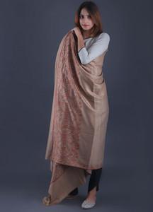 Sanaulla Exclusive Range Textured Pashmina Shawl 52 - Formal Collection