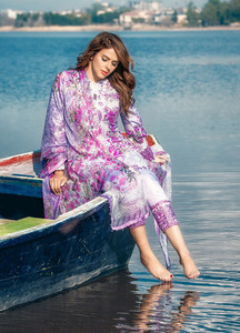 Gulaal Embroidered Lawn Unstitched 3 Piece Suit GL19C V1 11 - Lawn Collection