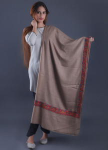 Sanaulla Exclusive Range Textured Pashmina Shawl 40 - Formal Collection