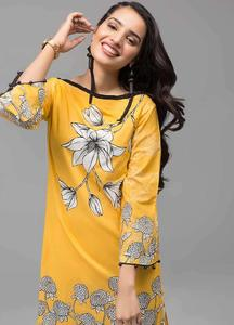 Gul Ahmed Printed Cotton Unstitched Kurties GAB19-L3 SL-683 - Mid Summer Collection