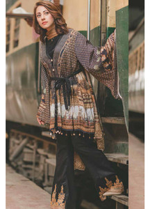 Rang Rasiya Embroidered Lawn Unstitched 3 Piece Suit RGR17C 152B