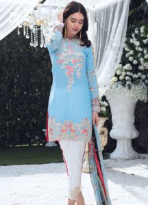 Gulaal Embroidered Lawn Unstitched 3 Piece Suit GL18L 02 - Spring / Summer Collection