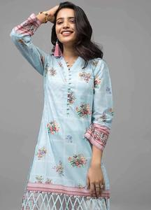 Gul Ahmed Printed Cotton Unstitched Kurties GAB19-L3 SL-707 - Mid Summer Collection