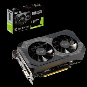 ASUS TUF Gaming GeForce GTX 1660 Ti OC edition 6GB GDDR6 rocks high refresh rates for an FPS advantage without breaking a sweat