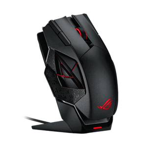 ASUS ROG SPATHA WIRELESS/WIRED LASER USB RGB GAMING MOUSE