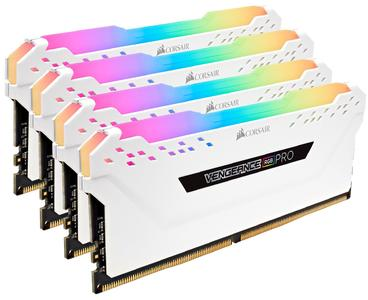 CORSAIR Vengeance RGB PRO 16GB (2x8GB) DDR4 3200MHz C16 LED Desktop Memory  White