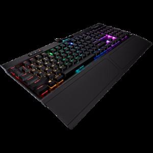 Corsair K70 RGB MK.2 Low Profile Mechanical Gaming Keyboard  CHERRY MX Low Profile Red