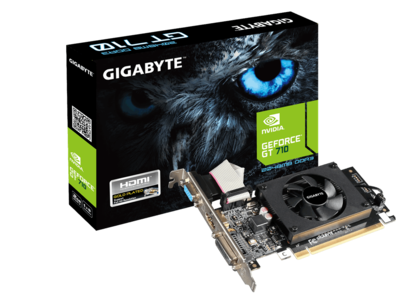 Gigabyte GeForce 710 DDR3 2GB PCI-Express Graphics Card (GV-N710D3-2GL)