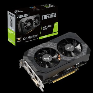 The ASUS TUF Gaming GeForce GTX 1660 OC edition 6GB GDDR5 rocks high refresh rates for an FPS advantage without breaking a sweat