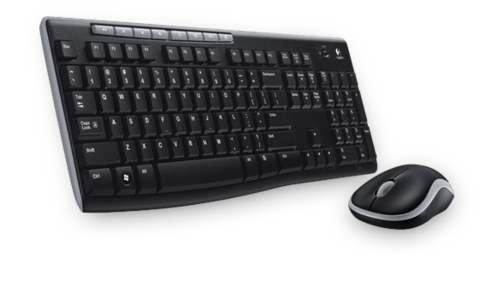 Logitech Wireless Combo MK270 Keyboard & Mouse (920-004498)