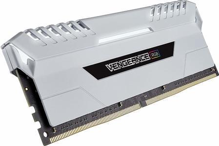 Corsair Vengeance RGB 16GB (2x8GB) DDR4 DRAM 3000MHz C15 Memory Kit  (CMR16GX4M2C3000C15W)