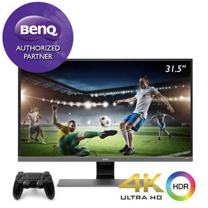 BenQ EW3270U 4K HDR 32 inch 32 Best for PS4 Pro  Xbox One X & Video Streaming HDMI  DP  USB-C Ports Eye Care Gaming Monitor for Multimedia