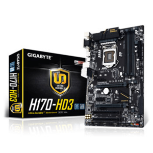 Gigabyte GA-H170-HD3 DDR3 Motherboard