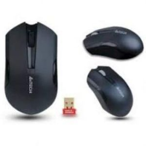 A4Tech G3-200N Padless V-Track Wireless Mouse (Black)