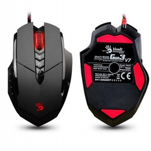 A4Tech V7M Multicore Metal Feet Bloody Ultra / Multi Core3 Gaming Mouse (Bloody+Black)
