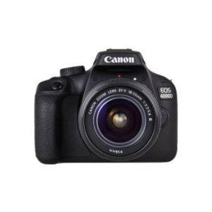 Canon EOS 4000D 18.0 MP 18-55mm Lens Wi-Fi DSLR Camera Black