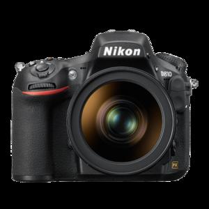 Nikon D810 36.3 MP FX-Format CMOS Sensor DSLR Camera Black (Lens Option)