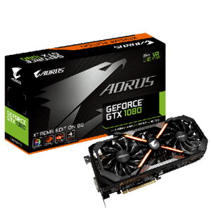Gigabyte AORUS GeForce GTX 1080 Xtreme Edition 8GB GDDR5X (VR Ready)