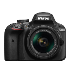 Nikon D3400 24 MP 18-55mm VR Lens DSLR Camera Black
