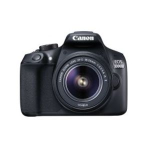 Canon EOS 1300D 18.0 MP 18-55mm Lens Wi-Fi DSLR Camera Black