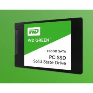 Western Digital 240GB Solid State Drive Green (WDS240G1G0A-00SS50)