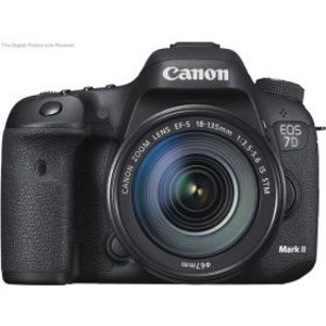 Canon EOS 7D MARK II DSLR Camera (Lens Options)