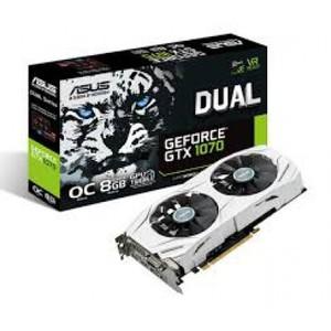 Asus GTX 1070 Dual 8GB GDDR5 256-Bit Graphics Card (DUAL-GTX1070-08G)