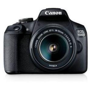 Canon EOS 1500D 24.1 MP 18-55mm Lens Wi-Fi DSLR Camera Black