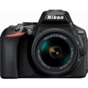 Nikon D5600 24.2 MP 18-55mm Lens Wi-Fi DSLR Camera - Black
