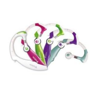 A4TECH HS-12 Icat Ear Headphone with Mic - Blue/Pink/Purple