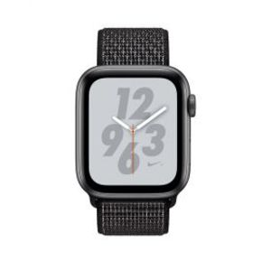 Apple iWatch MU7J2 Series 4 44mm Space Gray Case with Black Nike Sport Loop