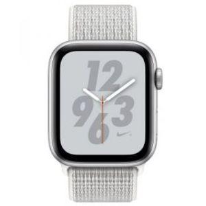 Apple Watch Series 4 MU7F2 40mm Nike+ Silver Aluminum Case with Summit White Nike Sport Loop (GPS)