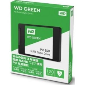 Western Digital 120GB Solid State Drive Green (WDS120G1G0A-00SS50)