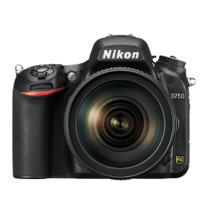 Nikon D750 24.3 MP Wi-Fi DSLR Camera Black (Lens Options)