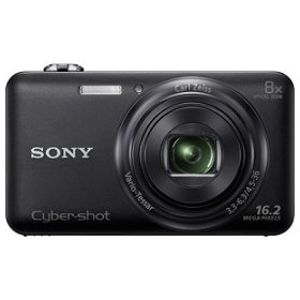 Sony CyberShot DSC-WX80 16.2 MP Wi-Fi Digital Camera Black