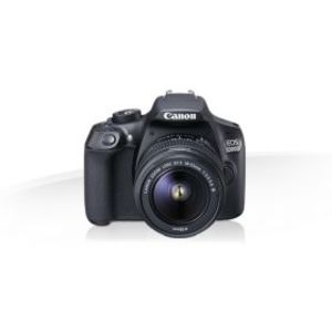 Canon EOS 1300D 18.0 MP 18-55mm Lens Wi-Fi DSLR Camera Black