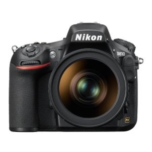Nikon D810 36.3 MP FX-Format CMOS Sensor DSLR Camera Black (Lens Option)