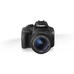 Canon EOS 100D 18 MP 18-55mm Lens DSLR Camera Black